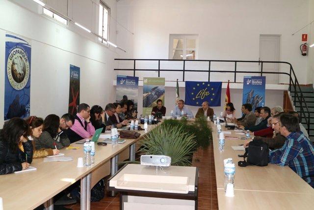 Comisión de seguimiento del proyecto LIFE Adaptamed