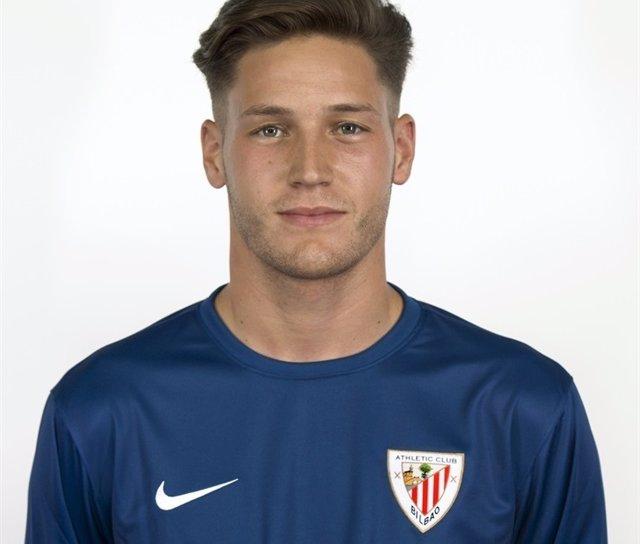 Alejandro Remiro, portero del Athletic
