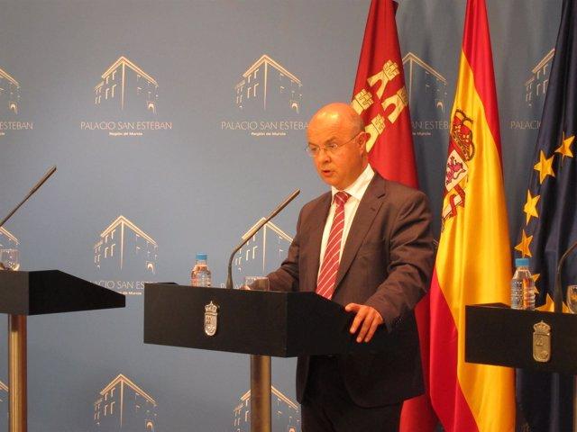Andrés Carrillo, En La Rueda De Prensa