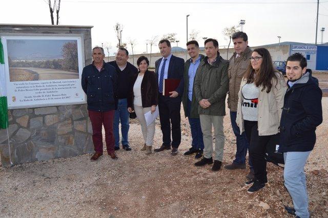 Inauguración de la Vía Verde de La Roda