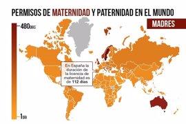 Permisos de paternidad y maternidad en el mundo: ¿cuántos días disponen los padres y madres en otros países?