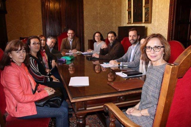 Primera reunión de seguimiento del Pacto Local por la Ocupación