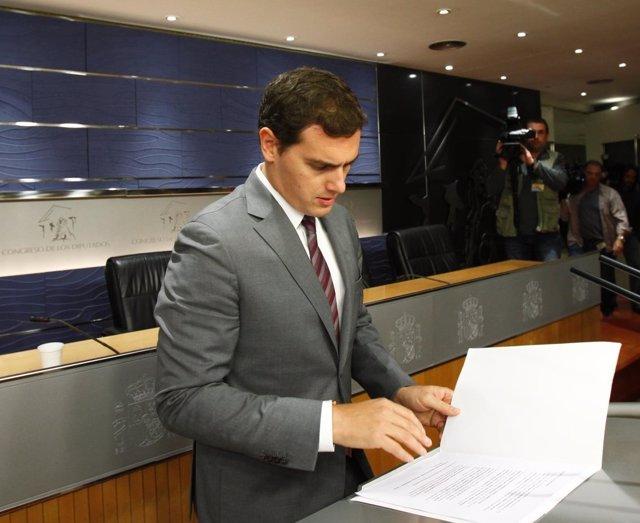 Albert Rivera, presidnete de Ciudadanos