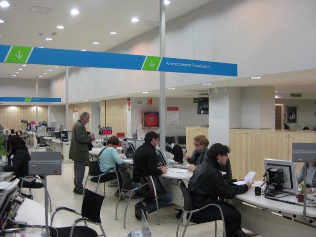 Oficina De Treball De La Generalitat (OTG), SOC, Atur