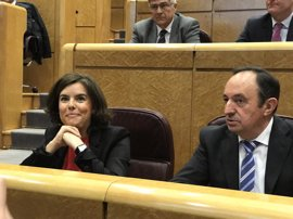 """Santamaría contesta a Pérez de los Cobos: """"Indudablemente, el TC es un elemento para resolver conflictos"""""""