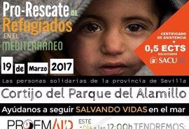Festival de música el domingo en el Alamillo para recaudar fondos para las labores de Proem Aid en Lesbos