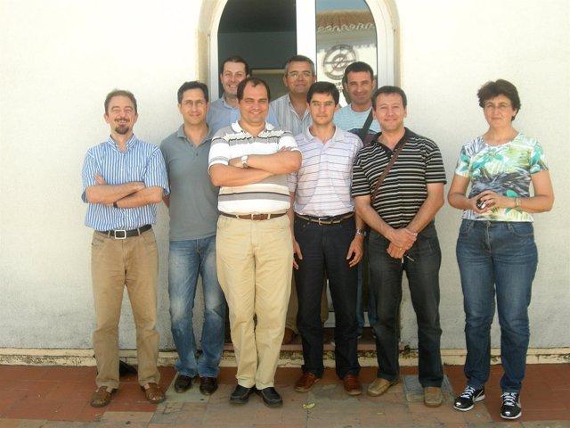 Grupo de investigación de la UHU.