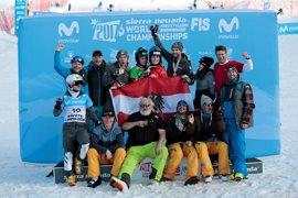 Los austríacos Andreas Prommegger y Daniela Ulbing se llevan el oro en el eslalon gigante paralelo