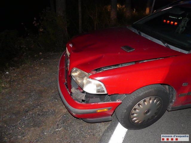 Denuncian a un conductor bebido por causar un accidente en la Diagonal