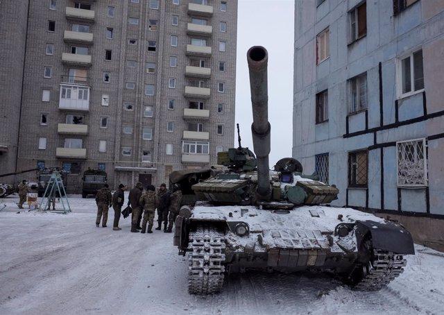 Escalada de violencia en la localidad ucraniana de Avdiyivka