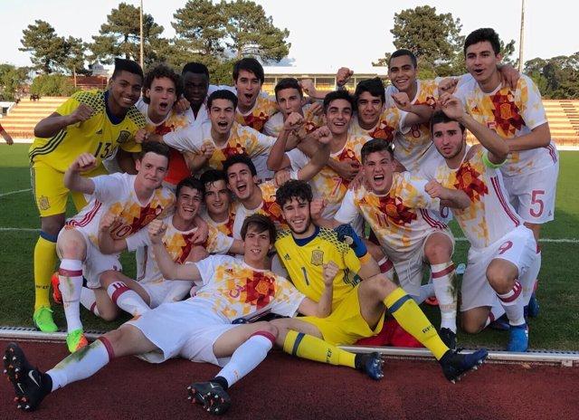 La selección española Sub-17 de fútbol