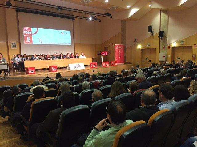 Imagen del Comité Regional del PSOE-RM