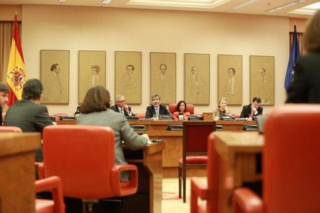 Carlos Lesmes, presidente del TS y del CGPJ, comparece en el Congreso