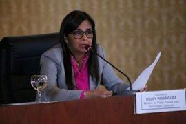 """La canciller venezolana califica de """"inadmisible"""" el informe presentado por Almagro"""