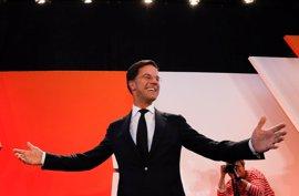 El partido de Rutte gana en las parlamentarias, según datos al 93,2% del recuento