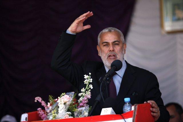 El primer ministro marroquí, Abdelilá Benkirán