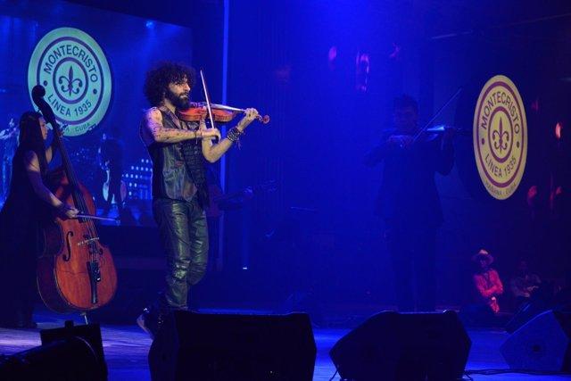 Ara Malikian actúa en el XIX Festival del Habano