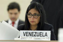 """Rodríguez subraya que """"el pueblo de Venezuela jamás permitirá una intervención"""" y pide """"estar alerta"""""""
