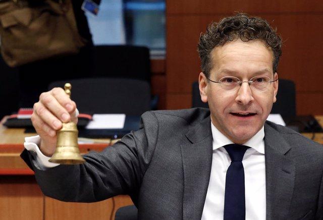 Jeroen Dijsselbloem, Presidente Del Eurogrupo