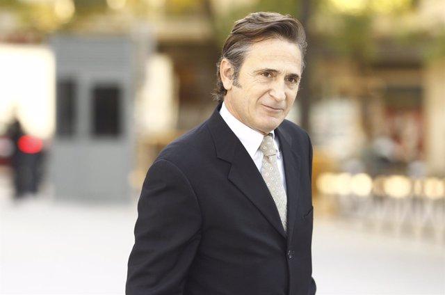 Josep Pujol declaran en la Audiencia Nacional como imputado por blanquo