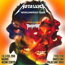 Metallica presentarán nuevo disco en Madrid y Barcelona en febrero de 2018