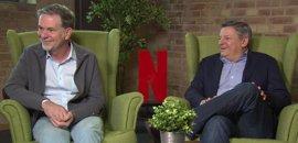 """Reed Hastings y Ted Sarandos (CEO y Director de Contenidos de Netflix): """"Seguiremos produciendo series españolas"""""""