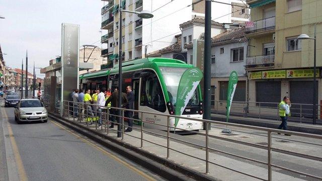 Imagen del metro de Granada