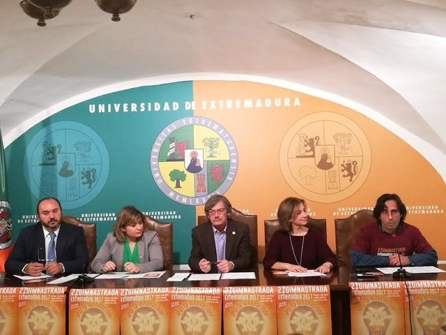 Presentación de la XXI Gimnastrada Extremadura en Cáceres
