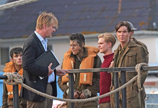 Harry Styles, Cillian Murphy, Mark Rylance, Christopher Nolan