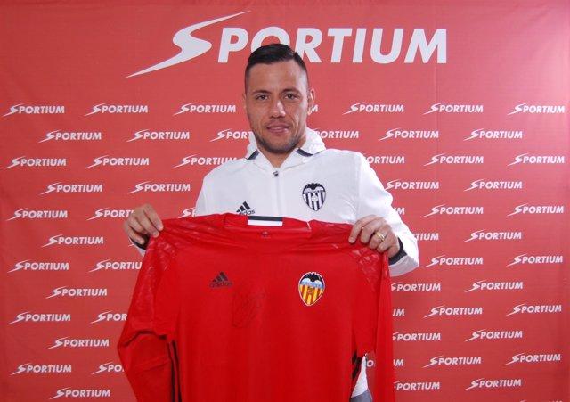 Diego Alves, jugador del Valencia