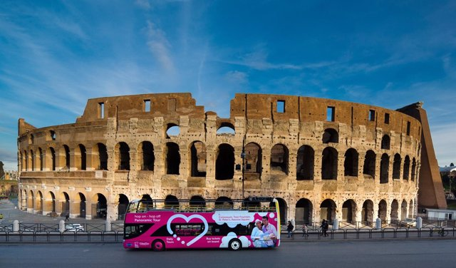 Bus turístico Grupo Julià  'I love Rome City Tour'