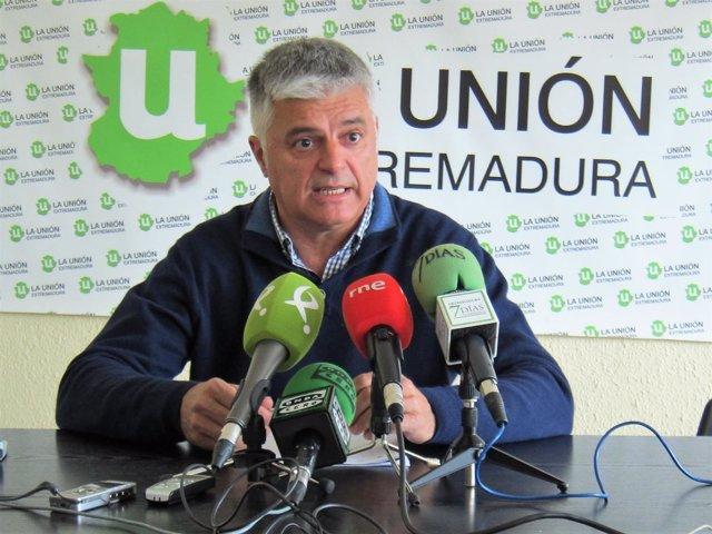 Luis Cortés, secretario técnico de La Unión Extremadura