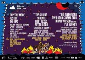Bilbao BBK Live anuncia su cartel por días y confirma 17 bandas