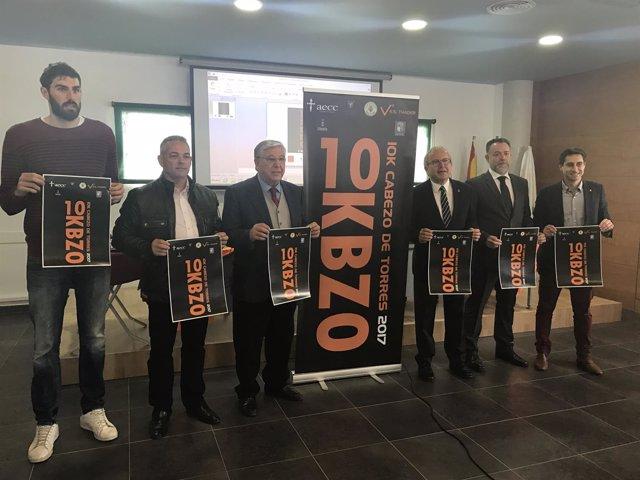 La III carrera 10K Cabezo de Torres destinará un euro a la AECC