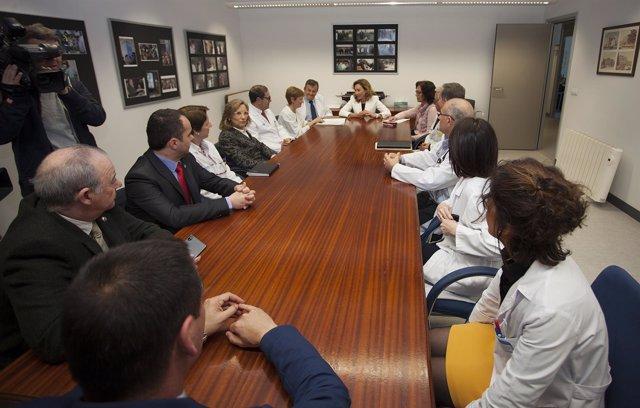 Reunión del observatorio de agresiones en Salud