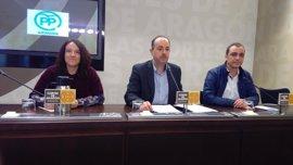 Alcaldes del PP piden al Gobierno de Aragón coordinación y acelerar la implantación de la banda ancha