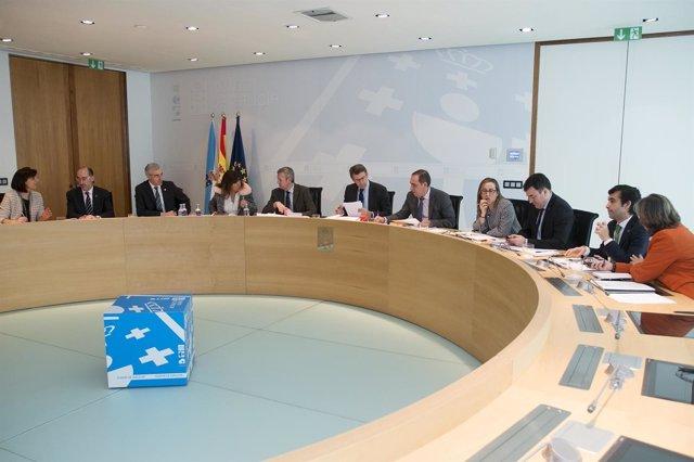 Consello de la Xunta del 16 de marzo.