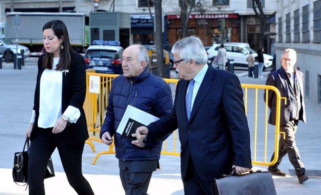 El exgobernador Miguel Ángel Fernández Ordóñez declara en la Audiencia Nacional
