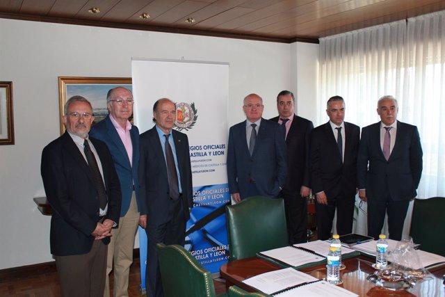Palencia: reunión del Consejno de Médicos