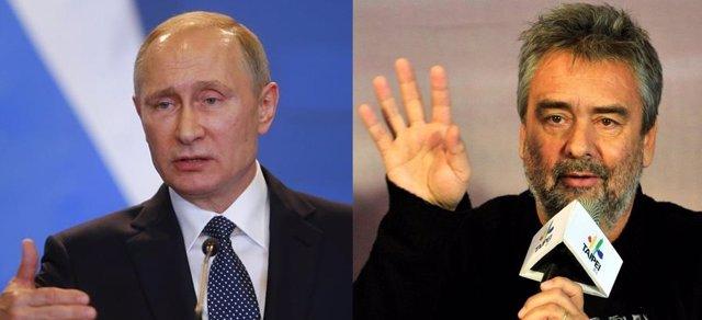 Putin y Luc Besson
