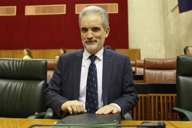 Aquilino Alonso, el debate general sobre la sanidad pública andaluza