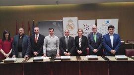 Ayuntamiento de Albacete y Fundación Real Madrid proporcionarán deporte y valores a 70 menores en riesgo de exclusión