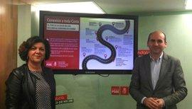 El PSOE exige que la Diputación pida al Gobierno central las mejoras en la A-7 de la Costa del Sol