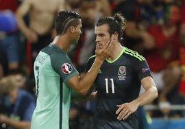 Cristiano y Bale, convocados por Portugal y Gales