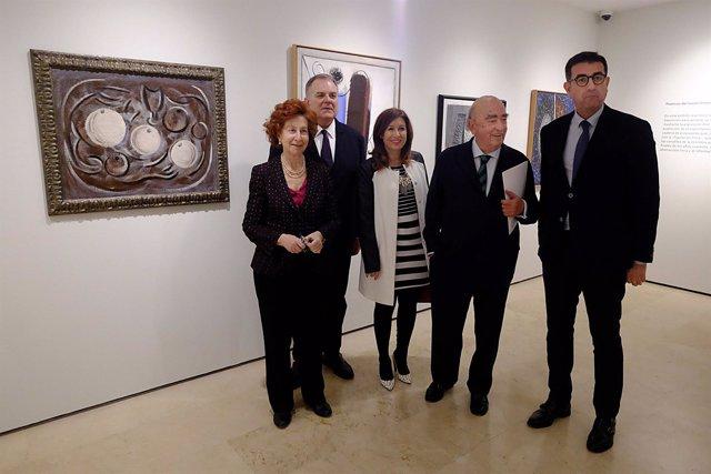 Presentación exposiciones Casa Natal Picasso