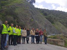 La Junta invierte 937.000 euros en la mejora del camino que une el municipio de Álora con el Caminito del Rey