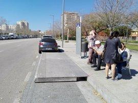 El Ayuntamiento de Palma mejora la accesibilidad de dos paradas de Nou Llevant
