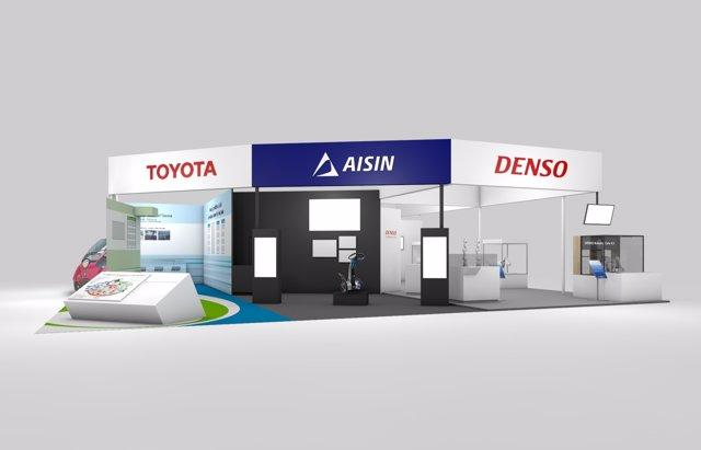 Stand de Toyota en CeBIT 2017