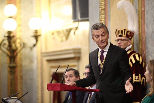 Discurso de Mauricio Macri en el Congreso