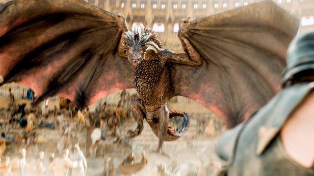 Dragones de Juego de tronos